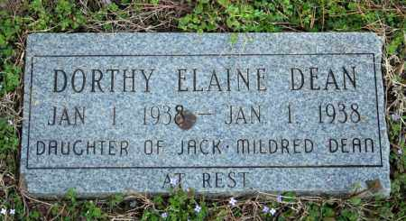 DEAN, DORTHY ELAINE - Searcy County, Arkansas | DORTHY ELAINE DEAN - Arkansas Gravestone Photos