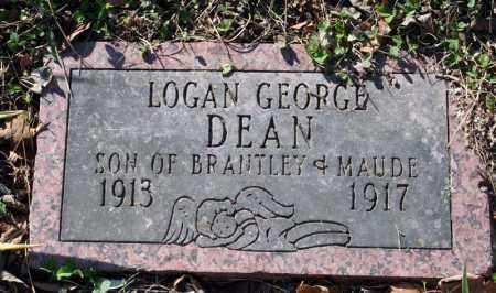 DEAN, LOGAN GEORGE - Searcy County, Arkansas | LOGAN GEORGE DEAN - Arkansas Gravestone Photos