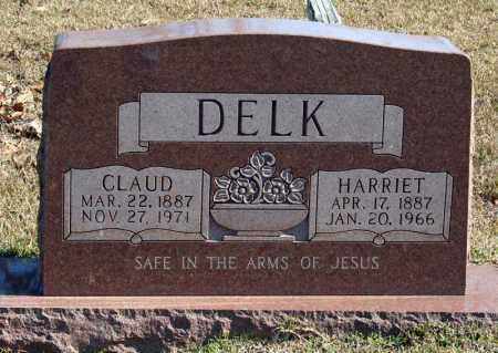 DELK, CLAUD - Searcy County, Arkansas | CLAUD DELK - Arkansas Gravestone Photos