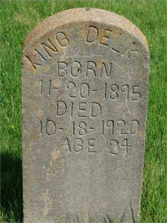 DELK, KING - Searcy County, Arkansas | KING DELK - Arkansas Gravestone Photos