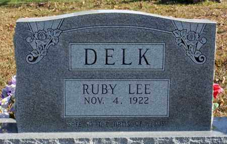 DELK, RUBY LEE - Searcy County, Arkansas | RUBY LEE DELK - Arkansas Gravestone Photos