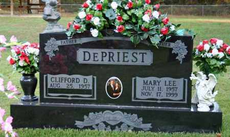 DEPRIEST, CLIFFORD D. - Searcy County, Arkansas | CLIFFORD D. DEPRIEST - Arkansas Gravestone Photos