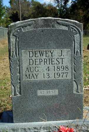 DEPRIEST, DEWEY J. - Searcy County, Arkansas   DEWEY J. DEPRIEST - Arkansas Gravestone Photos