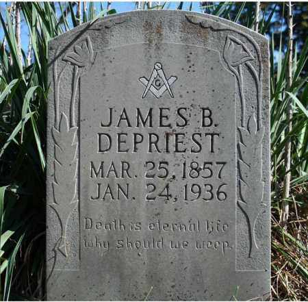 DEPRIEST, JAMES B. - Searcy County, Arkansas | JAMES B. DEPRIEST - Arkansas Gravestone Photos