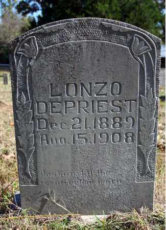 DEPRIEST, LONZO - Searcy County, Arkansas | LONZO DEPRIEST - Arkansas Gravestone Photos