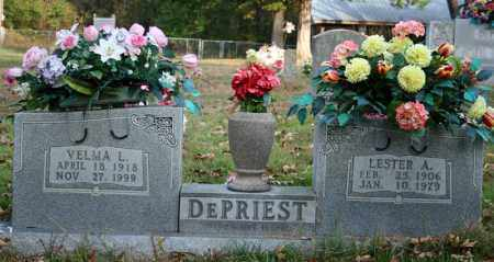 DEPRIEST, LESTER A. - Searcy County, Arkansas | LESTER A. DEPRIEST - Arkansas Gravestone Photos
