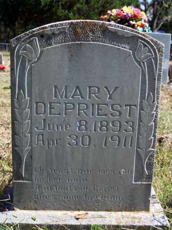 DEPRIEST, MARY - Searcy County, Arkansas | MARY DEPRIEST - Arkansas Gravestone Photos
