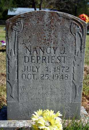 DEPRIEST, NANCY J. - Searcy County, Arkansas | NANCY J. DEPRIEST - Arkansas Gravestone Photos