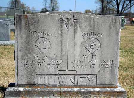DOWNEY, S.A. - Searcy County, Arkansas | S.A. DOWNEY - Arkansas Gravestone Photos