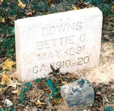 DOWNS, BETTIE - Searcy County, Arkansas | BETTIE DOWNS - Arkansas Gravestone Photos