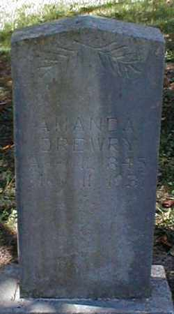 DREWRY, AMANDA - Searcy County, Arkansas | AMANDA DREWRY - Arkansas Gravestone Photos