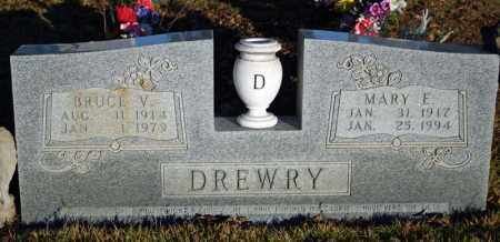 DREWRY, BRUCE VERNON - Searcy County, Arkansas | BRUCE VERNON DREWRY - Arkansas Gravestone Photos