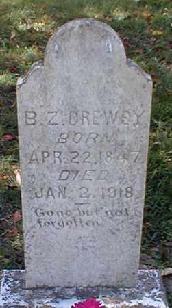 DREWRY, B. Z. - Searcy County, Arkansas | B. Z. DREWRY - Arkansas Gravestone Photos