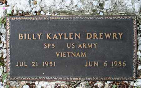 DREWRY  (VETERAN VIET), BILLY KAYLEN - Searcy County, Arkansas | BILLY KAYLEN DREWRY  (VETERAN VIET) - Arkansas Gravestone Photos