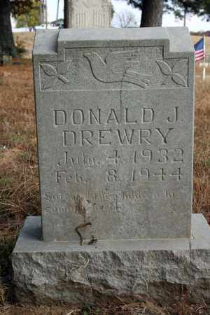 DREWRY, DONALD J. - Searcy County, Arkansas | DONALD J. DREWRY - Arkansas Gravestone Photos