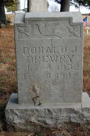 DREWRY, DONALD J. - Searcy County, Arkansas | DONALD J. DREWRY - Arkansas Gravestone Photos