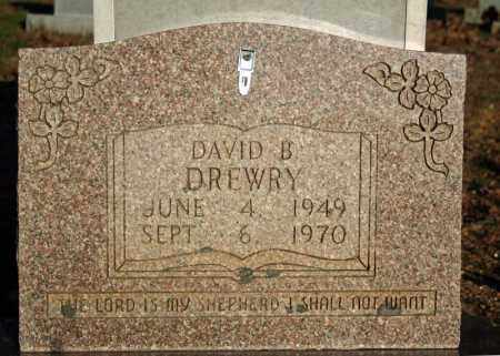 DREWRY, DAVID B. - Searcy County, Arkansas | DAVID B. DREWRY - Arkansas Gravestone Photos