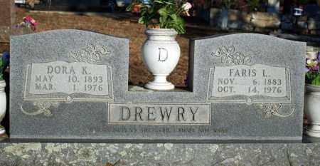 "DREWRY, DORINDA ""DORA"" K. (SULLINS) - Searcy County, Arkansas | DORINDA ""DORA"" K. (SULLINS) DREWRY - Arkansas Gravestone Photos"