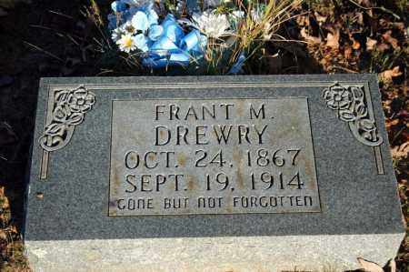 "DREWRY, FRANCIS ""FRANT"" M. - Searcy County, Arkansas 