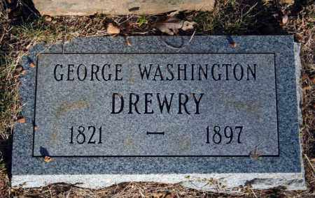DREWRY, GEORGE WASHINGTON - Searcy County, Arkansas | GEORGE WASHINGTON DREWRY - Arkansas Gravestone Photos