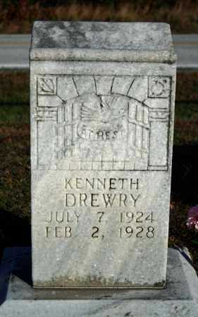DREWRY, KENNETH - Searcy County, Arkansas | KENNETH DREWRY - Arkansas Gravestone Photos