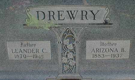 DREWRY, LEANDER C. - Searcy County, Arkansas | LEANDER C. DREWRY - Arkansas Gravestone Photos