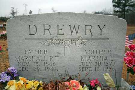 DREWRY, MARTHA ELLEN - Searcy County, Arkansas | MARTHA ELLEN DREWRY - Arkansas Gravestone Photos