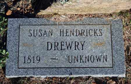 DREWRY, SUSAN (HENDRICKS) - Searcy County, Arkansas | SUSAN (HENDRICKS) DREWRY - Arkansas Gravestone Photos