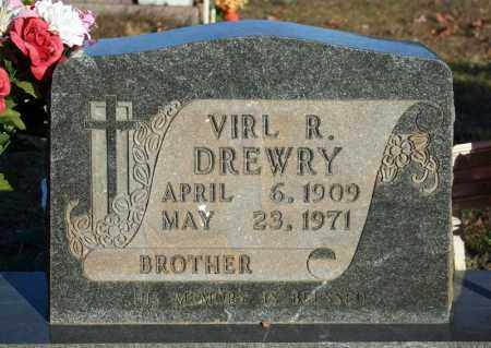 DREWRY, VIRL R. - Searcy County, Arkansas | VIRL R. DREWRY - Arkansas Gravestone Photos