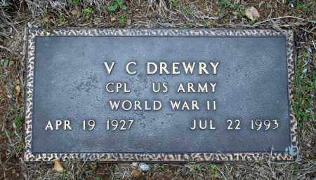 DREWRY (VETERAN WWII), V C - Searcy County, Arkansas | V C DREWRY (VETERAN WWII) - Arkansas Gravestone Photos