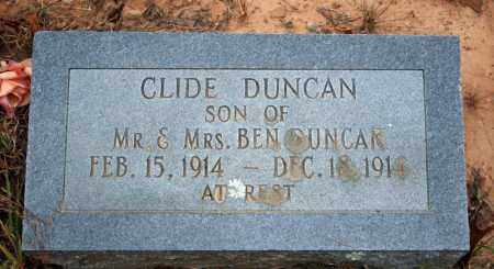 DUNCAN, CLIDE - Searcy County, Arkansas | CLIDE DUNCAN - Arkansas Gravestone Photos