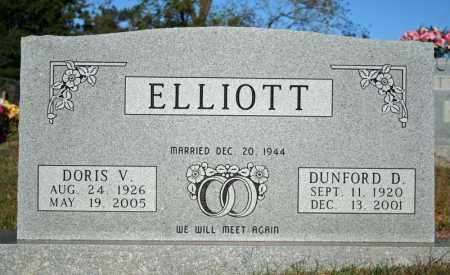 ELLIOTT, DUNFORD D. - Searcy County, Arkansas | DUNFORD D. ELLIOTT - Arkansas Gravestone Photos