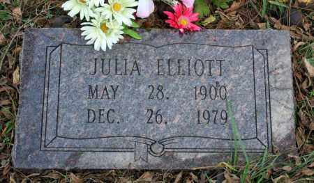 ELLIOTT, JULIA - Searcy County, Arkansas | JULIA ELLIOTT - Arkansas Gravestone Photos