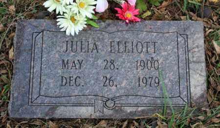 ELLIOTT, JULIA - Searcy County, Arkansas   JULIA ELLIOTT - Arkansas Gravestone Photos