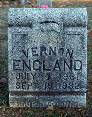 ENGLAND, VERNON - Searcy County, Arkansas | VERNON ENGLAND - Arkansas Gravestone Photos