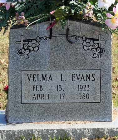 EVANS, VELMA L. - Searcy County, Arkansas | VELMA L. EVANS - Arkansas Gravestone Photos