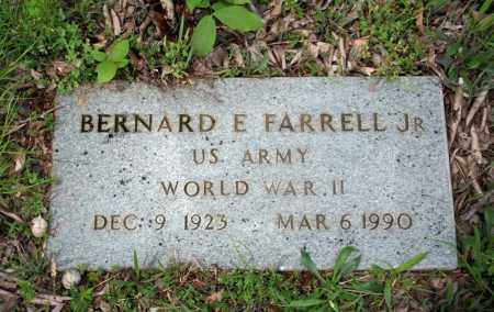 FARRELL, JR (VETERAN WWII), BERNARD E - Searcy County, Arkansas | BERNARD E FARRELL, JR (VETERAN WWII) - Arkansas Gravestone Photos