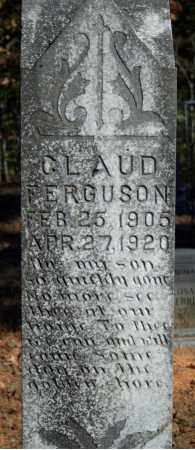 FERGUSON, CLAUD - Searcy County, Arkansas | CLAUD FERGUSON - Arkansas Gravestone Photos