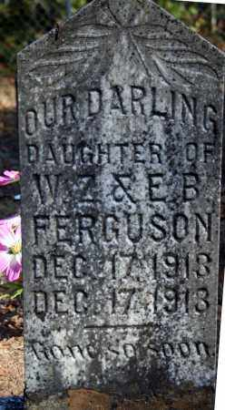 FERGUSON, INFANT DAUGHTER - Searcy County, Arkansas | INFANT DAUGHTER FERGUSON - Arkansas Gravestone Photos