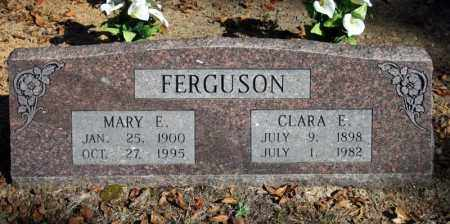 FERGUSON, CLARA E. - Searcy County, Arkansas | CLARA E. FERGUSON - Arkansas Gravestone Photos