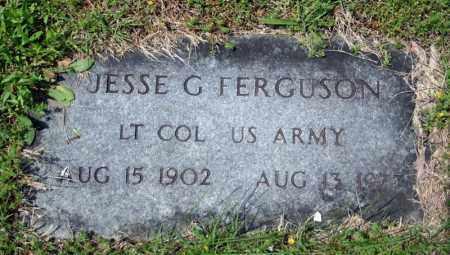 FERGUSON (VETERAN), JESSE G - Searcy County, Arkansas | JESSE G FERGUSON (VETERAN) - Arkansas Gravestone Photos