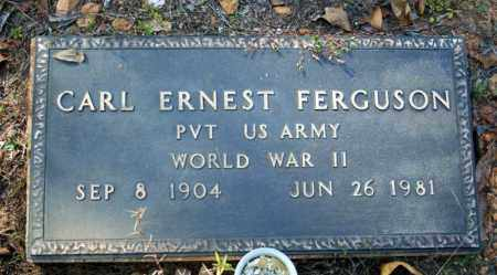 FERGUSON (VETERAN WWII), CARL ERNEST - Searcy County, Arkansas | CARL ERNEST FERGUSON (VETERAN WWII) - Arkansas Gravestone Photos