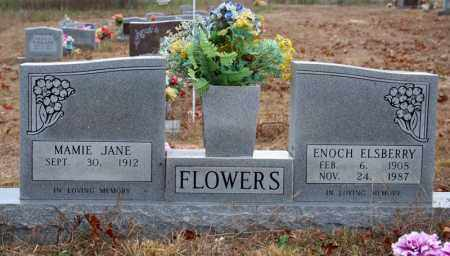FLOWERS, ENOCH ELSBERRY - Searcy County, Arkansas | ENOCH ELSBERRY FLOWERS - Arkansas Gravestone Photos