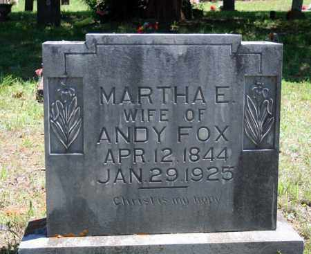 FOX, MARTHA E. - Searcy County, Arkansas | MARTHA E. FOX - Arkansas Gravestone Photos
