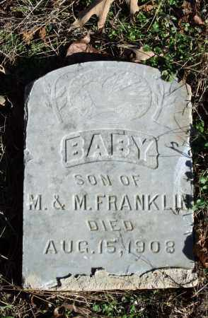 FRANKLIN, INFANT SON - Searcy County, Arkansas | INFANT SON FRANKLIN - Arkansas Gravestone Photos