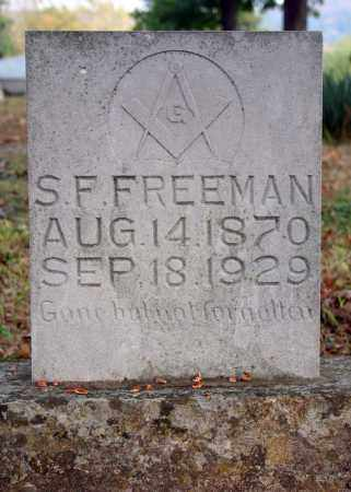 FREEMAN, S.F. (SAMUEL) - Searcy County, Arkansas | S.F. (SAMUEL) FREEMAN - Arkansas Gravestone Photos