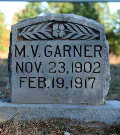 GARNER, M.V. - Searcy County, Arkansas | M.V. GARNER - Arkansas Gravestone Photos