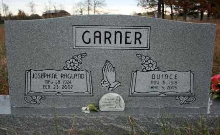 "GARNER, JOSEPHINE ""BONNIE"" - Searcy County, Arkansas 