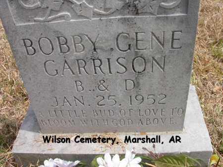 GARRISON, BOBBY GENE - Searcy County, Arkansas | BOBBY GENE GARRISON - Arkansas Gravestone Photos
