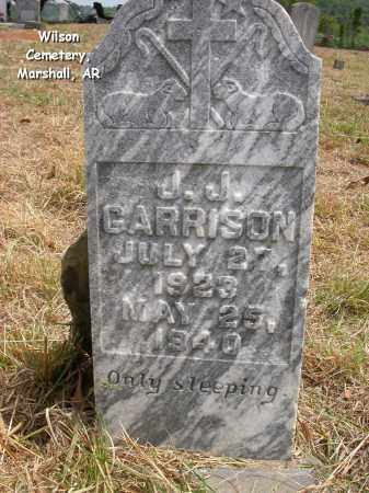 GARRISON, J.J. - Searcy County, Arkansas | J.J. GARRISON - Arkansas Gravestone Photos